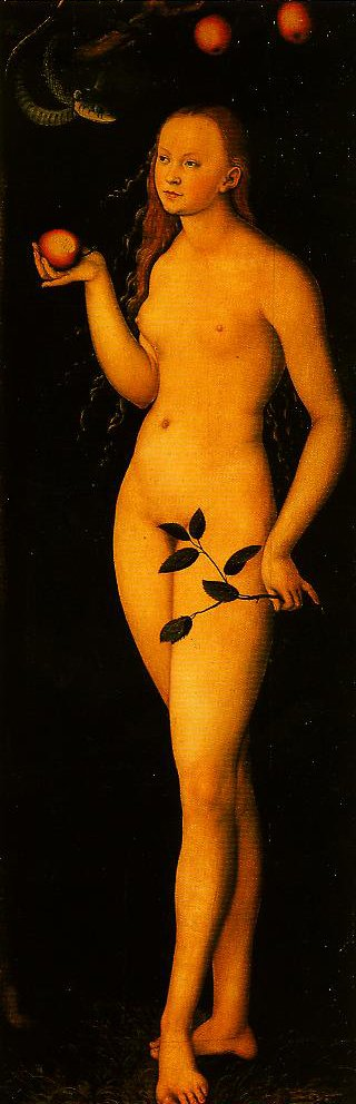 Eve | Lucas Cranach the Elder | Oil Painting