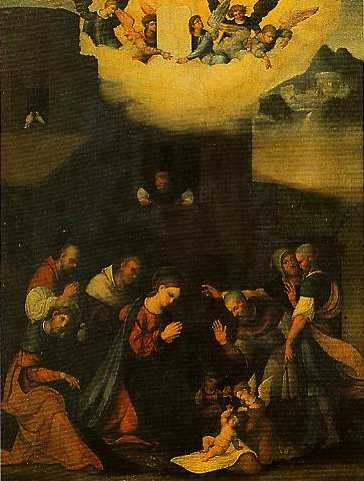 The Adoration of the Shepherds | Ludovico Mazzolino | Oil Painting