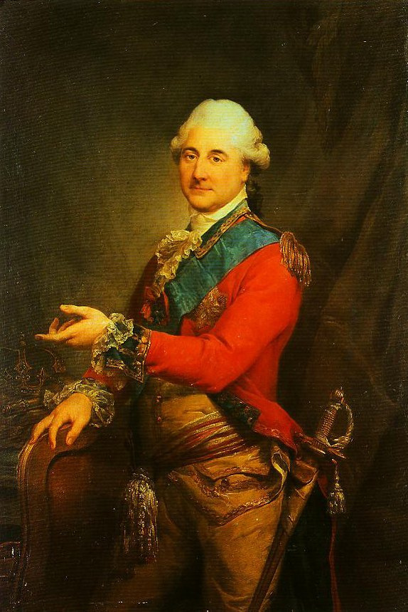 Portrait of Stanislaus Augustus Poniatowski King of Poland | Marcello Bacciarelli | Oil Painting