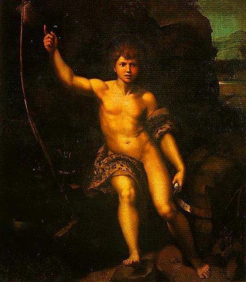 St John the Baptist | Raphael | Oil Painting