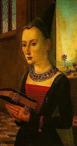 Portrait of Maria Bonciani | Master of he Baroncelli Portraits | Oil Painting