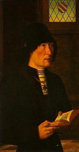 Portrait of Pierantonio Bandomo Baroncelli | Master of he Baroncelli Portraits | Oil Painting