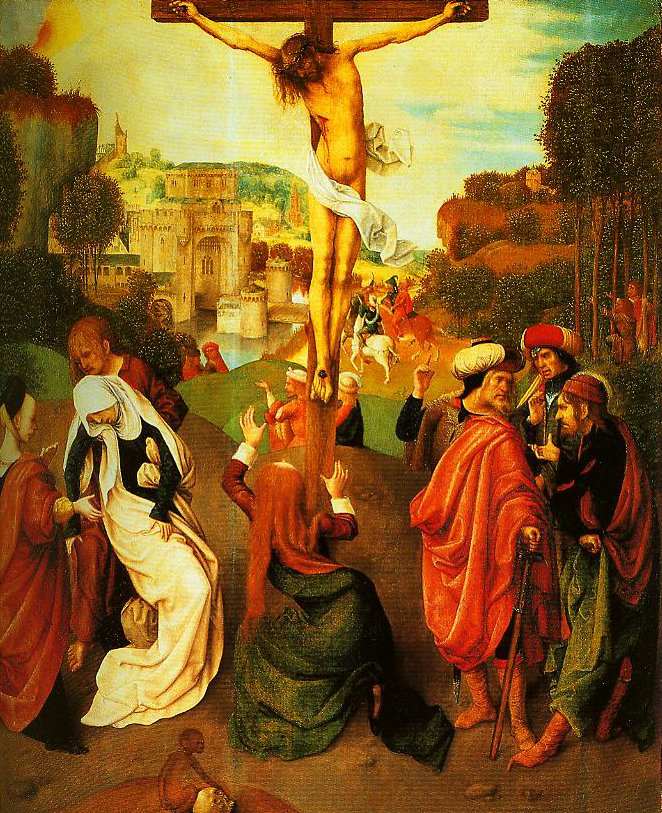 The Crucifixion | Master of the Virgo Inter Virgines | Oil Painting