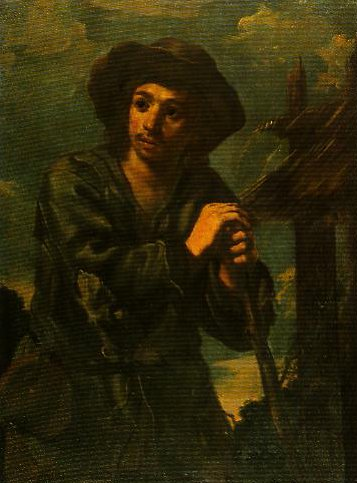 Young Peasant Boy | Monsu Bernardo | Oil Painting