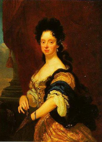 Anna Maria Luisa de Medici | Niccolo Cassana | Oil Painting
