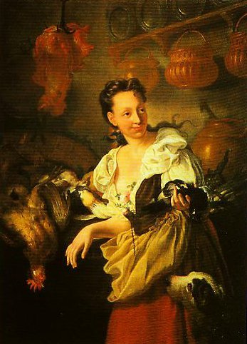 The Cook   Niccolo Cassana   Oil Painting