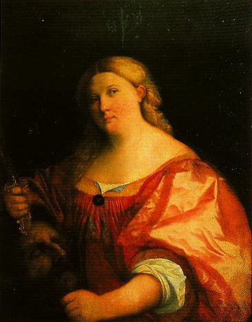Judith with the Head of Holofernes | Palma Vecchio | Oil Painting