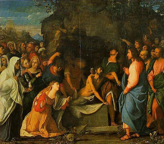 The Raising of Lazarus | Palma Vecchio | Oil Painting
