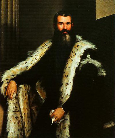 Portrait of a Gentleman in a Fur | Paolo Veronese | Oil Painting