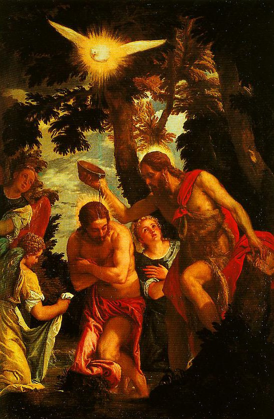 The Baptism of Christ | Paolo Veronese | Oil Painting