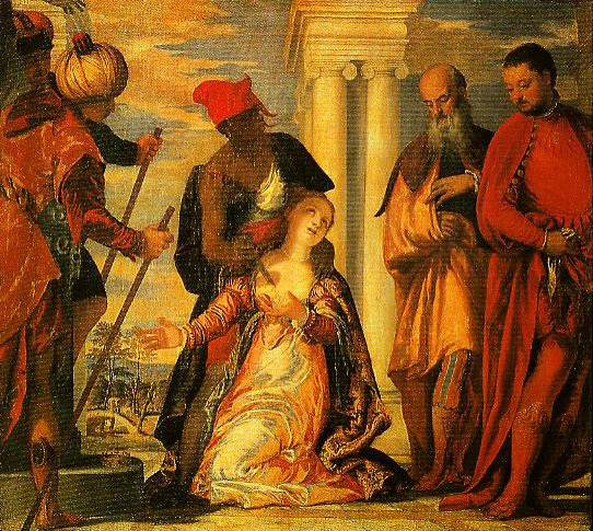 The Martyrdom of St Justina | Paolo Veronese | Oil Painting