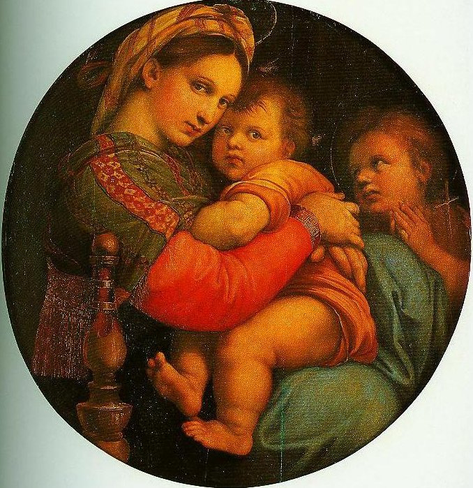 Madonna of the Chair | Raphael | Oil Painting