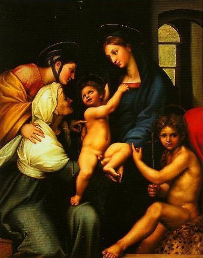 Madonna of the Cloth | Raphael | Oil Painting