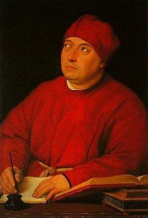Portrait of Tommaso Inghirami | Raphael | Oil Painting