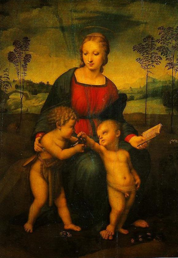 Madonna of the Goldfinch | Raphael | Oil Painting