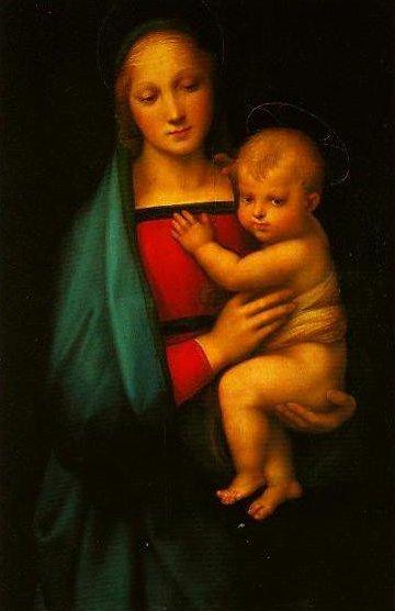 Madonna del Granduca | Raphael | Oil Painting