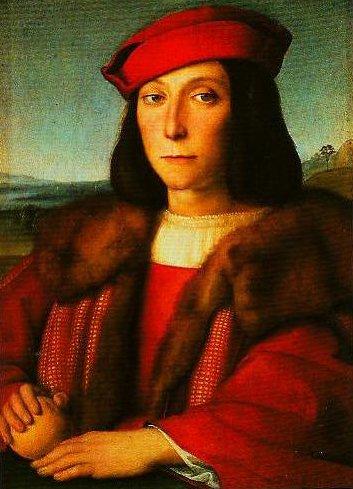 Portrait of Francesco Maria della Rovere | Raphael | Oil Painting