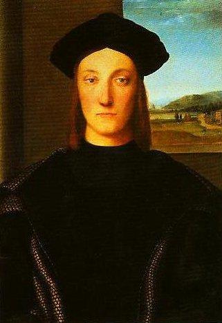 Portrait of Guidubaldo da Montefeltro | Raphael | Oil Painting