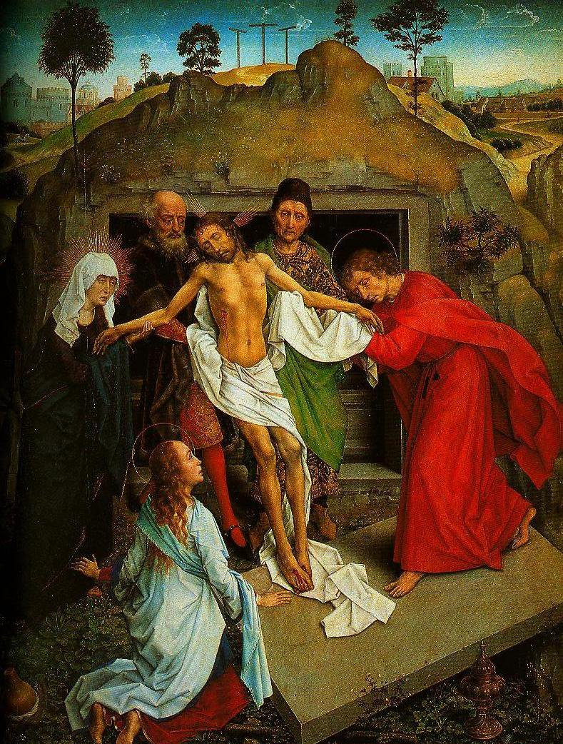 The Entombment | Rogier Van Der Weyden | Oil Painting