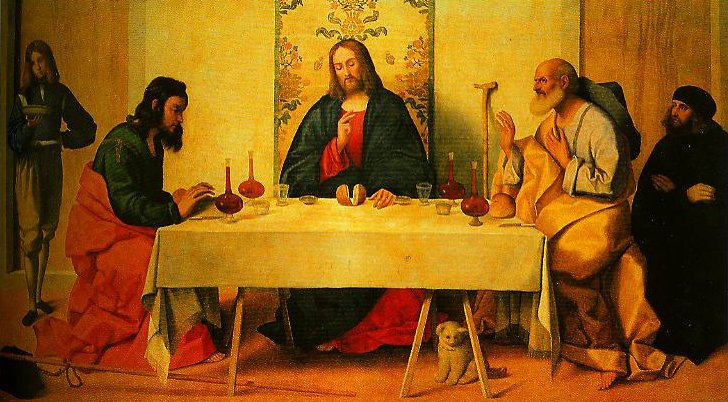 The Supper at Emmaus | Vincenzo Catena | Oil Painting