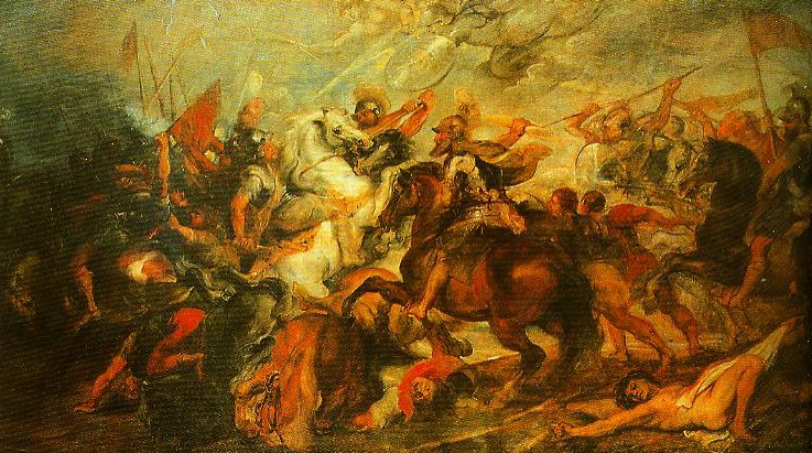 Henry IV at the Battle of Ivry | Pieter Paul Rubens | Oil Painting