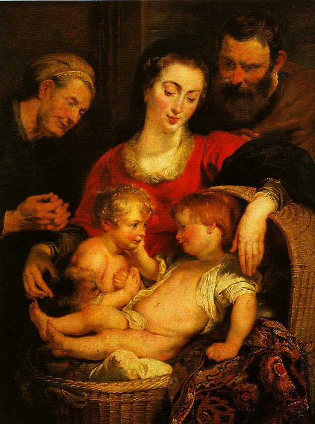 Holy Family with St Elizabeth | Pieter Paul Rubens | Oil Painting