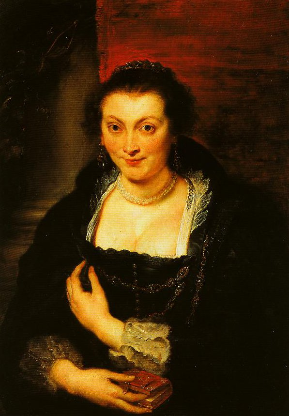 Portrait of Isabella Brant | Pieter Paul Rubens | Oil Painting