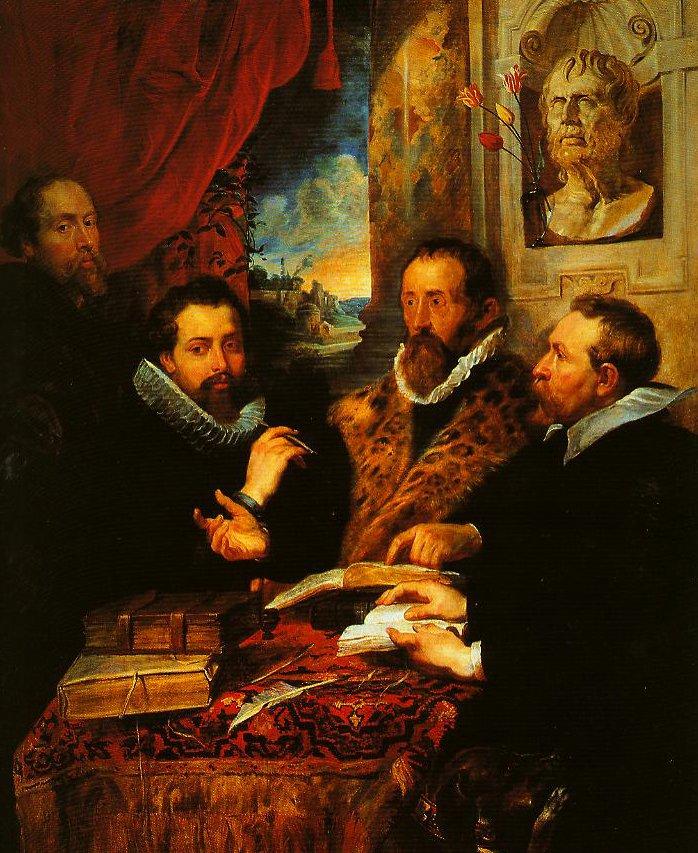 The Four Philosophers   Pieter Paul Rubens   Oil Painting
