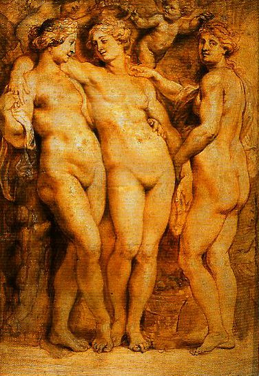 The Three Graces | Pieter Paul Rubens | Oil Painting