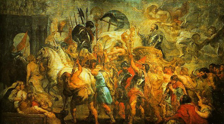 The Triumphal Entrance of Henry IV into Paris | Pieter Paul Rubens | Oil Painting