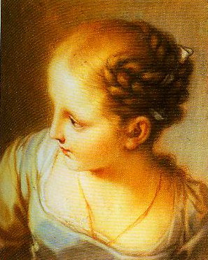 Portrait of a Young Girl | Pompeo Girolamo Batoni | Oil Painting