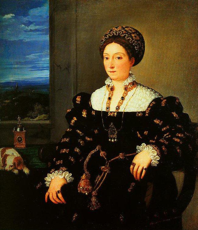 Portrait of Eleonora Gonzaga della Rovere   Titian   Oil Painting