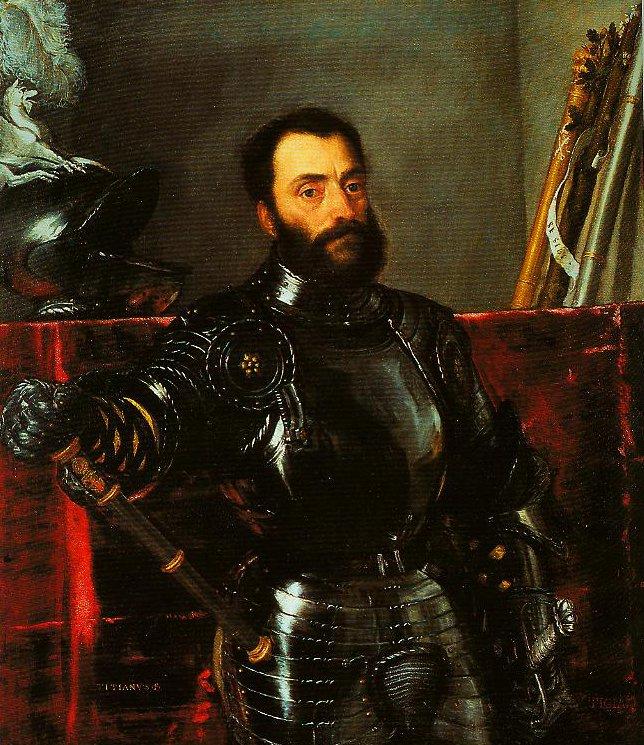 Portrait of Francesco Maria della Rovere   Titian   Oil Painting