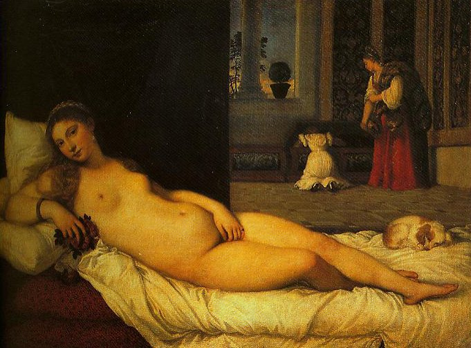 Venus (Venus of Urbino) | Titian | Oil Painting