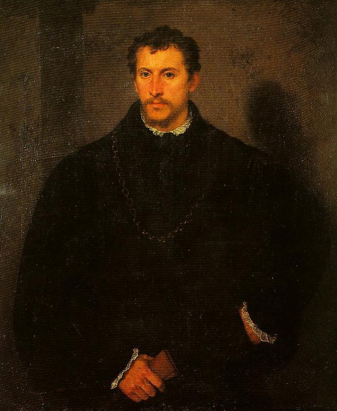 Portrait of a Gentleman (The Young Englishman) | Titian | Oil Painting
