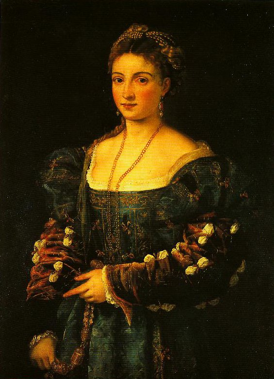 Portrait of a Woman (La Bella) | Titian | Oil Painting