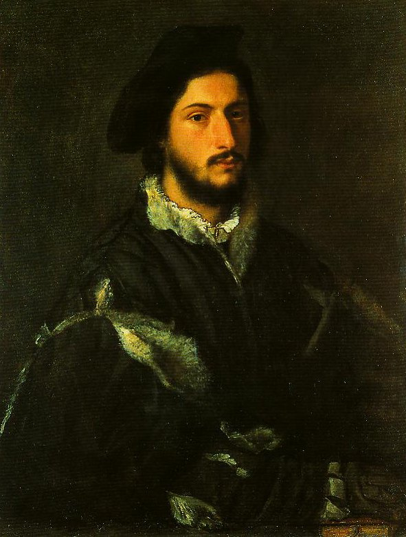 Portrait of a Gentleman (Tommaso Mosti) | Titian | Oil Painting