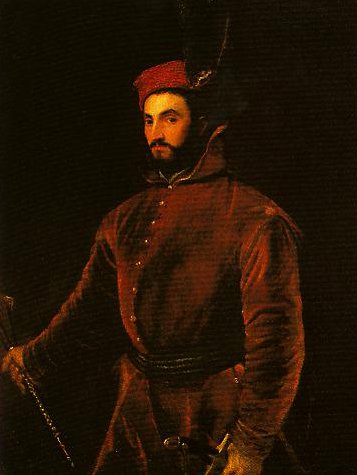 Portrait of Ippolito de Medici in a Hungarian Costume   Titian   Oil Painting