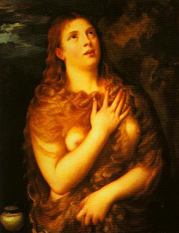 Mary Magdalen | Titian | Oil Painting