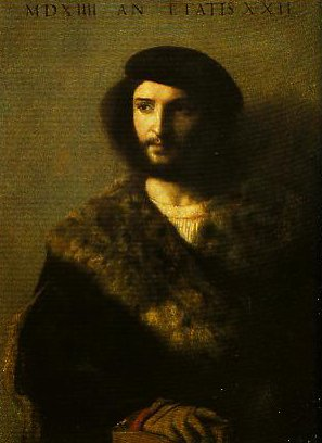 Portrait of a Man (The Sick Man) | Titian | Oil Painting