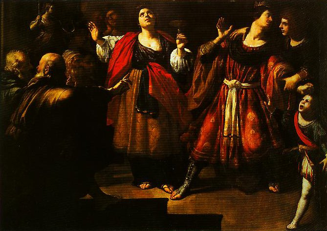 Masinissa and Sophonisba | Rutilio Manetti | Oil Painting