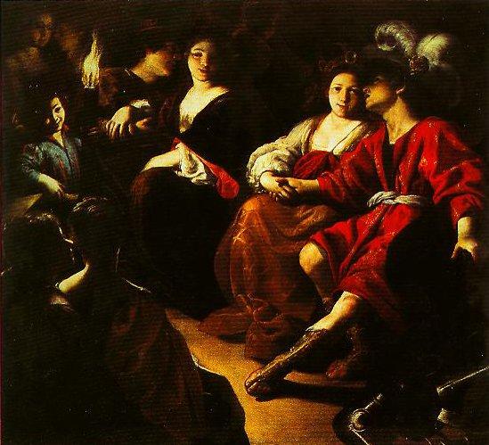 Rogero and Alcina | Rutilio Manetti | Oil Painting