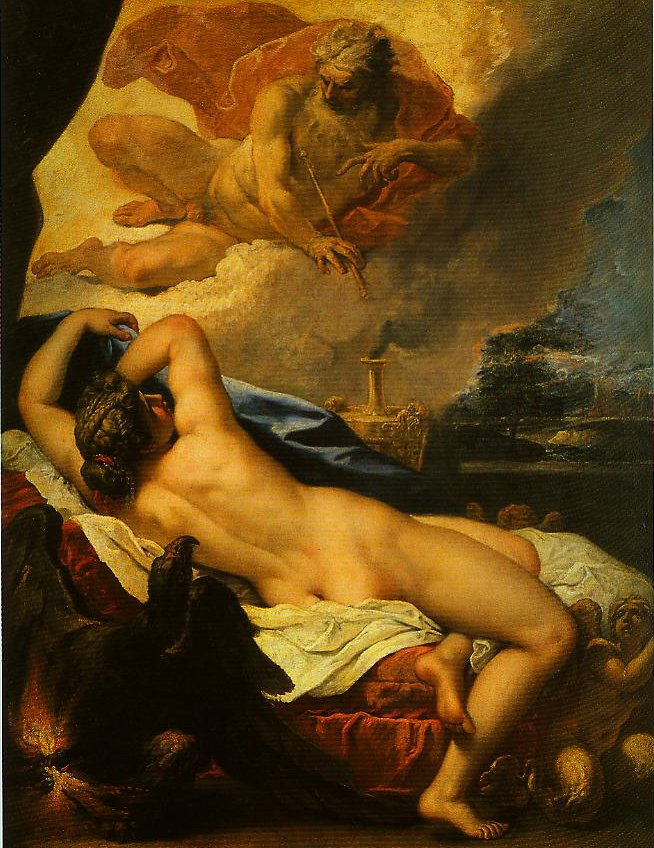Jove and Semele | Sebastiano Ricci | Oil Painting