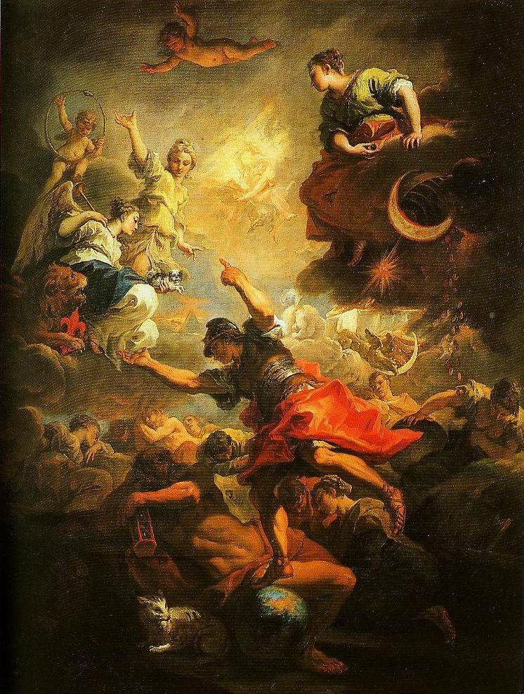 Allegory of Tuscany | Sebastiano Ricci | Oil Painting