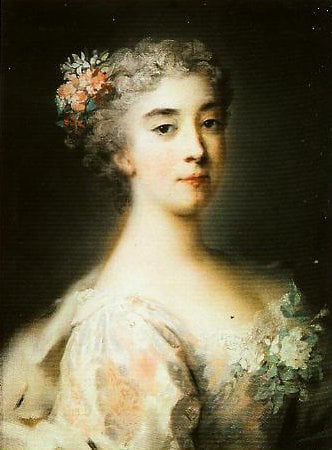 Enrichetta Anna Sofia of Modena | Rosalba Carriera | Oil Painting