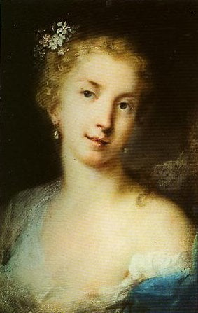 Flora | Rosalba Carriera | Oil Painting