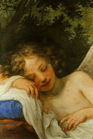 Sleeping Cupid | Volterrano | Oil Painting