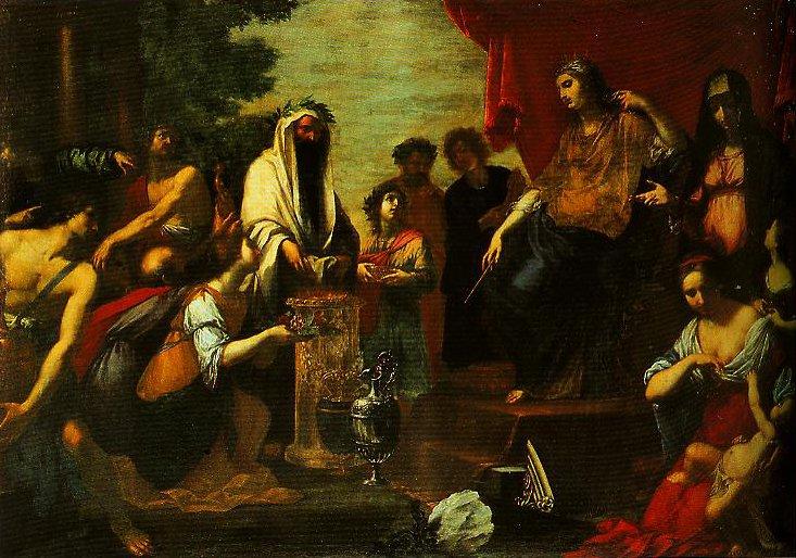 The Adoration of Niobe | Vincenzo Dandini | Oil Painting