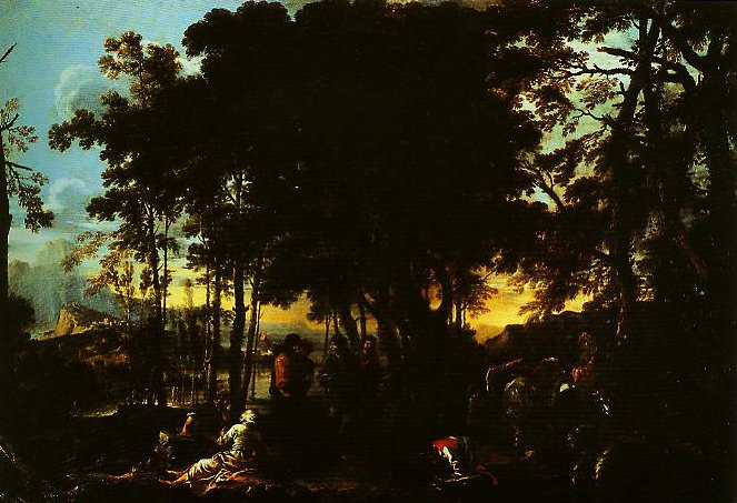 The Philosophers Wood | Salvator Rosa | Oil Painting