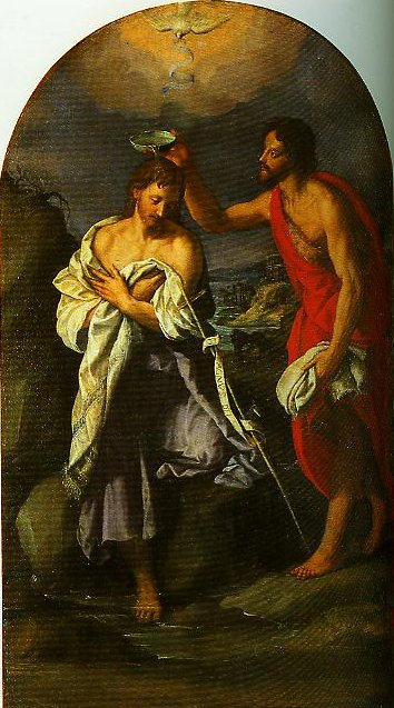 The Baptism of Christ | Alessandro Allori | Oil Painting